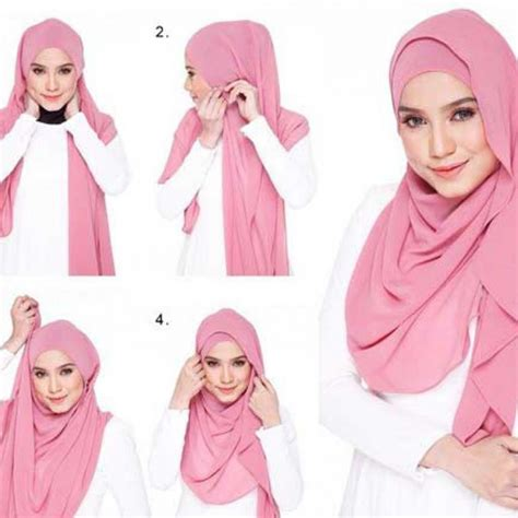 tutorial gambar frozen gambar tutorial hijab kartun menggunakan model jilbab