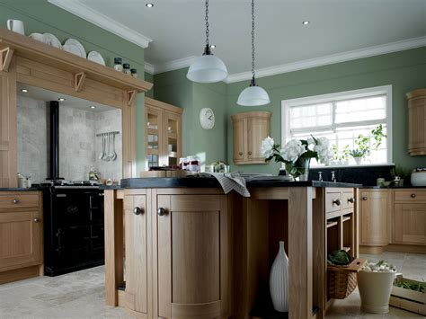 Choosing Paint Colors For Open Floor Plan milton oak from eaton kitchen designs wolverhampton