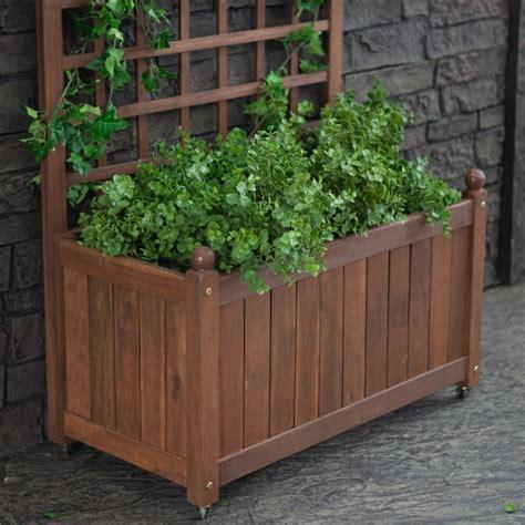 18 best trellis planter box images on pinterest window