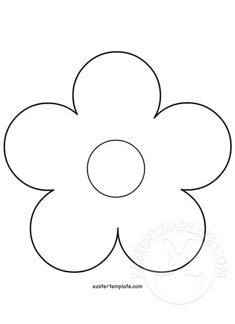 12 petal flower template pin petal flower colouring pages on