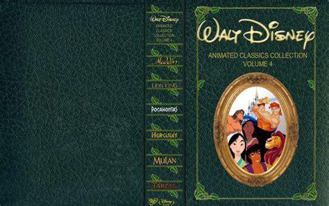 classic collection volume 4 disney animated classics collection volume 4 movie dvd custom covers disneyclassicsvol4