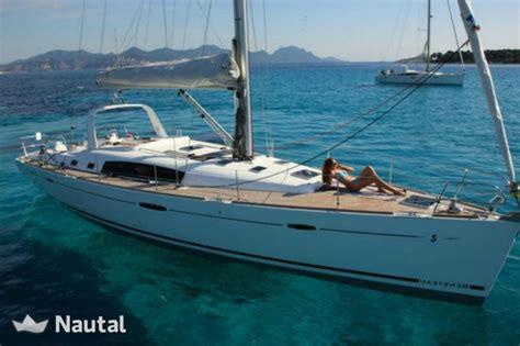 houseboat greece sailing boat rent beneteau oceanis 50 family in marina
