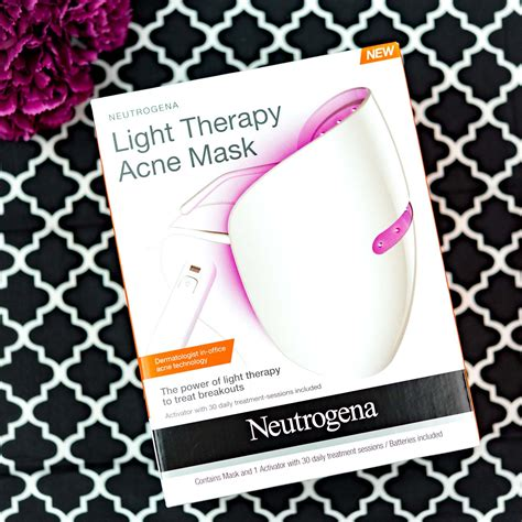 red light therapy for acne neutrogena s new light therapy acne mask it uses both