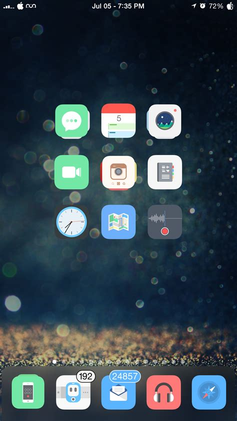 the jailbroken iphone setup