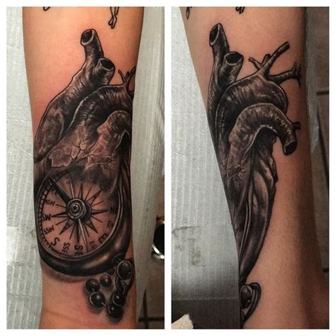 tattoo compass heart compass tattoo meaning and designs ideas