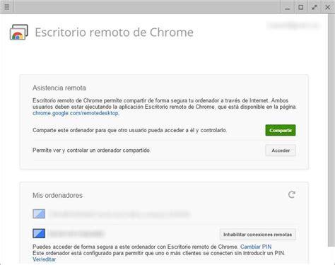 escritorio remoto chrome descargar ya puedes escuchar la m 250 sica de tu pc en android con chrome