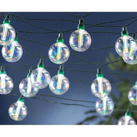 globe solar string lights 218204 solar outdoor