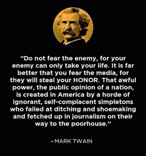 this fantastic mark twain quote about media is still true today