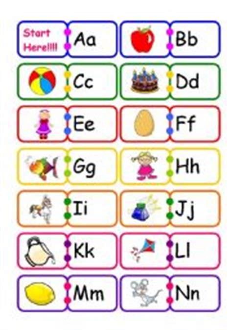 printable alphabet dominoes english worksheet alphabet domino