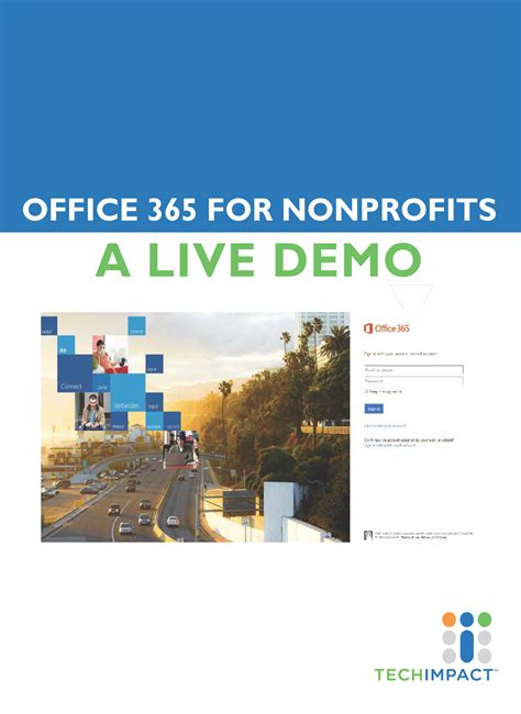 Office 365 For Nonprofits Onedrive For Business Tech Impact