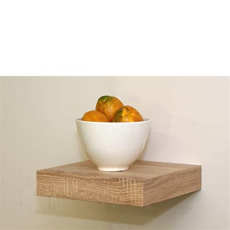 oak floating shelf kit 250x250x50mm mastershelf