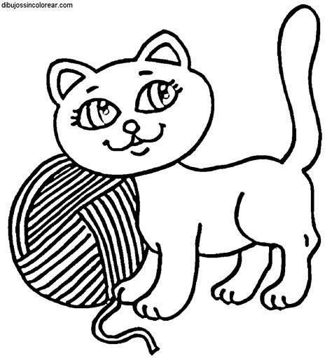 imagenes para colorear gato dibujos de gatos para colorear