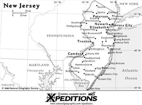 california new jersey map new jersey map