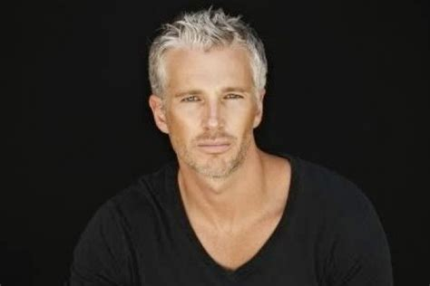 50 year old male grey curly hair grey hair turn your greying locks into a silver fox men