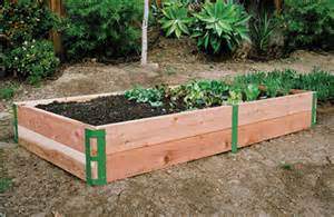 raised bed patio kit sustainable for