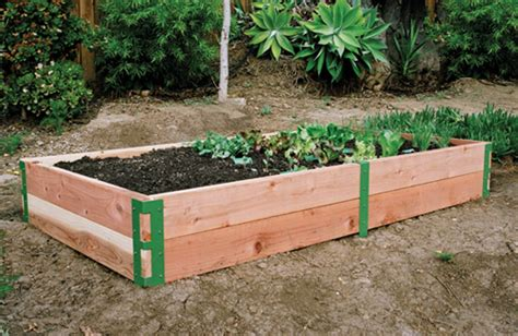 Raised Garden Bed Kit by Raised Bed Patio Kit Sustainable For