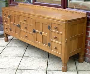 antiques atlas a mouseman solid oak 6 foot sideboard