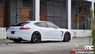 Porsche Panamera 22 Inch Rims Porsche Panamera Gts On 22 Inch Concave Vellano Wheels
