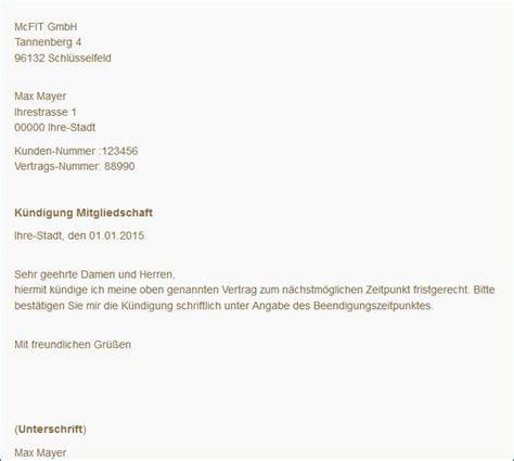 Musterbrief Adressänderung Wegen Umzug Mcfit K 252 Ndigen Kostenloser Musterbrief Tipps Freeware De