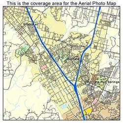 aerial photography map of murrieta ca california