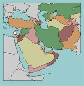 middle east map no names test your current affairs knowledge world leaders middle east lizard point