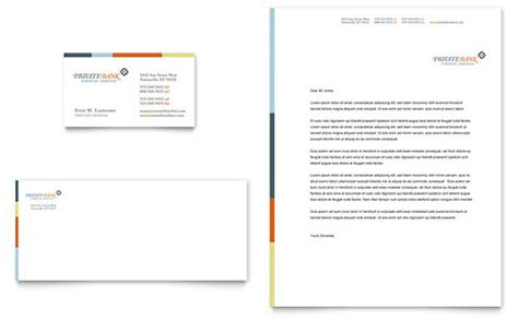 Letterhead To Bank Banking Letterhead Templates Financial Services