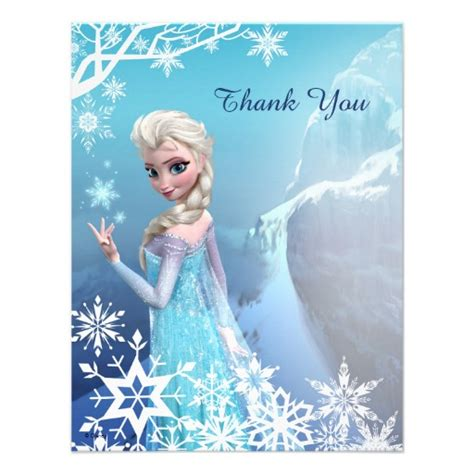 Frozen Thank You Card Template by 6 Best Images Of Disney Frozen Printables Thank You