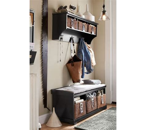 samantha entryway bench samantha entryway collection pottery barn dinette