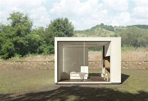 prefab studio with bathroom prefab backyard cabin by cover is made from pre insulated