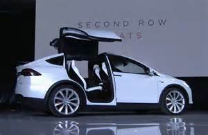 Tesla Electric Car Launch 2016 Tesla Model X Electric Suv So About Those Falcon