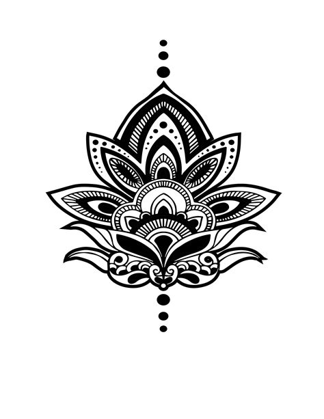 henna tattoo designs amazon yeeech temporary paper sanskrit lotus