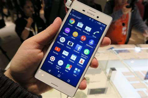 Sony Xperia M4 M4 Aqua sony xperia m4 aqua on preview