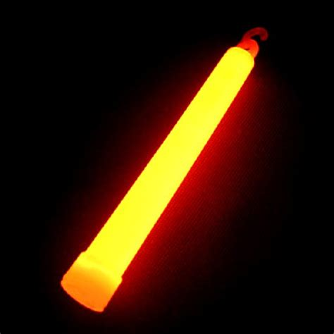 Glowstick Light Stick glow stick orange on cord supplies from novelties direct novelties direct ltd