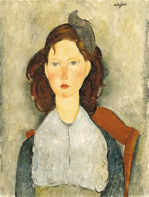 amedeo modigliani 1884 1920 the amedeo modigliani 1884 1920 fillette assise christie s