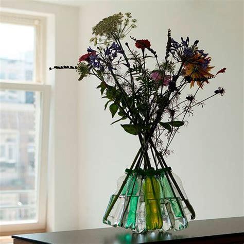 floreros con botellas de plastico florero de botellas de pl 225 stico
