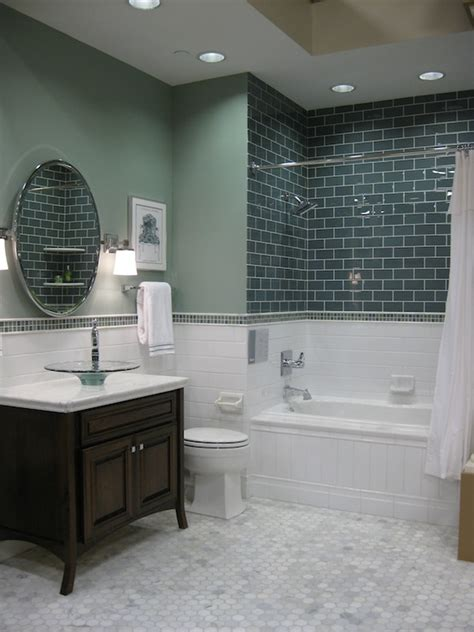 white subway tile bathroom ideas 34 white hexagon bathroom floor tile ideas and pictures