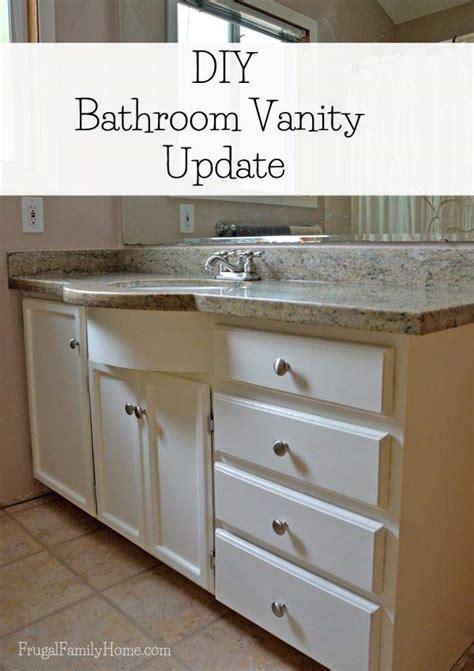 Updating Bathroom Vanity Diy Bathroom Vanity Update Continued
