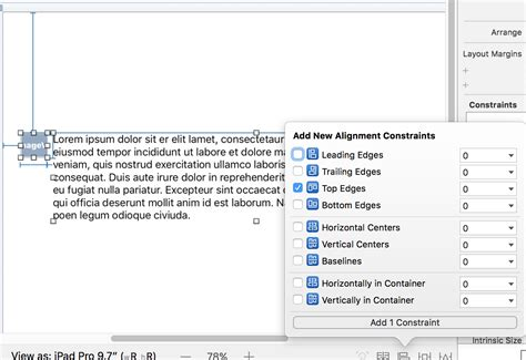 xcode kext tutorial swift 3 xcode text alignment to imageview xcode swift