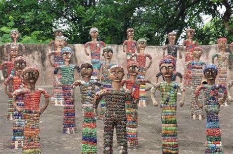 harsh khandka rock garden chandigarh by nek chand