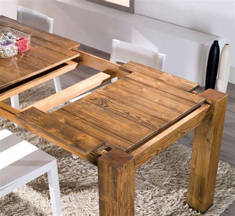 tavoli in legno tavolo allungabile mira in legno tavoli