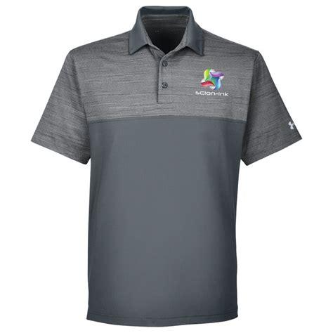 Kaos Kerah Polo Shirt Armour Exclusive Design 1 4imprint armour playoff block polo color