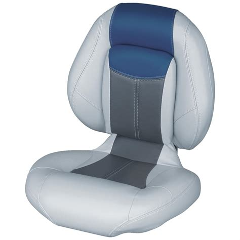 boat sets wise blast off series centric 1 folding boat seat 203480