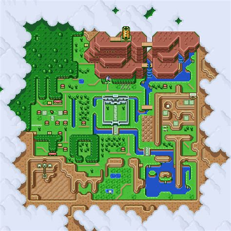 legend of zelda wall map the legend of zelda a link to the past hyrule map poster