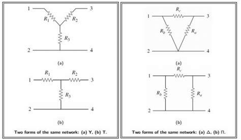 capacitor delta wye conversion wye delta transformation electrical circuits 1