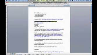 how to write a business letter how to write a business letter