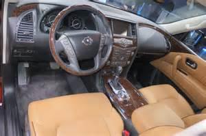 Nissan Armada Interior Photos by 2017 Armada Platinum Interior Pictures To Pin On