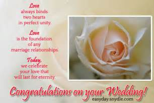 Wedding Wishes Msg Wedding Wishes Messages Wedding Quotes And Greetings Easyday