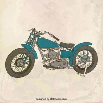 Motorrad Oldtimer Ab Wieviel Jahren by Motorrad Gezeichnet Fahrzeug Der