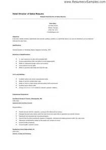 hotel resume sles resume for hotel management sales management lewesmr