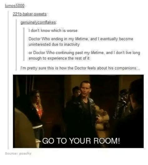 go to your room doctor who 221b baker i don t which is worse doctor who ending in my lifetime and l eventually